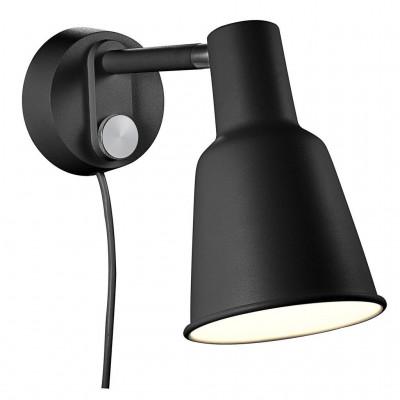 Wall lamp / sconce PATTON 15W E27 black 84471003 Nordlux