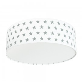 Grey Stars Plafond Ceiling Lamp