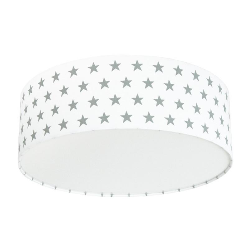 Grey Stars Plafond Ceiling Lamp