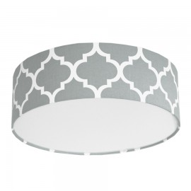 Grey Moroccan Clover Plafond Ceiling Lamp