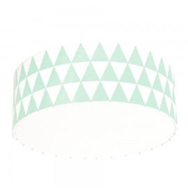 Mint Triangles Plafond Ceiling Lamp