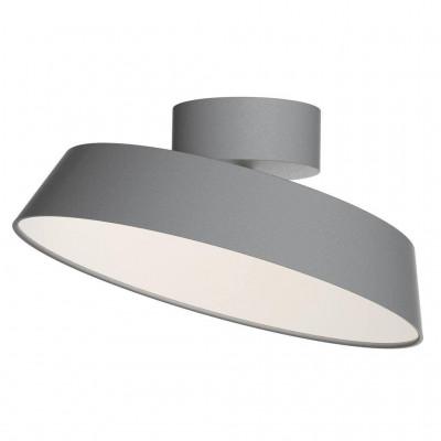 Ceiling lamp Alba Dim LED 12W gray 2020556010 Nordlux