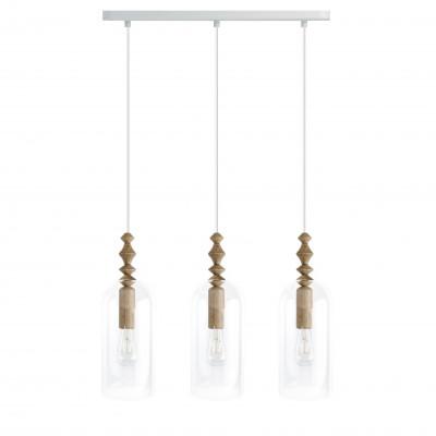 Loft Hulub 3 listwa lampa wisząca