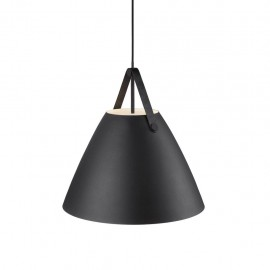 Hanging / ceiling lamp STRAP 48 black 40W E27 84353003 Nordlux