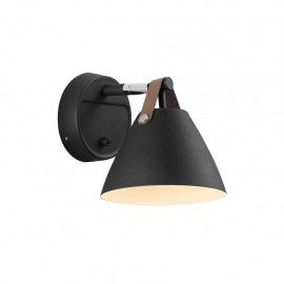 Wall lamp STRAP 15, 8W, GU10 black 84291003 Nordlux