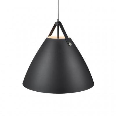 Lampa wisząca / sufitowa STRAP 68 czarna 60W E27 84363003 Nordlux