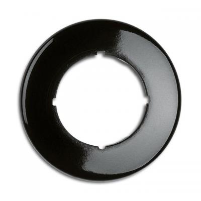Rustykalna bakelitowa ramka pojedyncza okrągła 173063 THPG