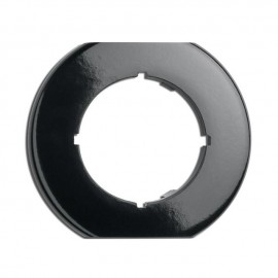 Rustykalna bakelitowa ramka środkowa okrągła 173093 THPG