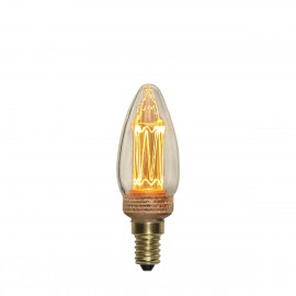 NEW GENERATION CLASSIC decorative LED bulb E14 C37 2.3W dimmable 2000K Star Trading