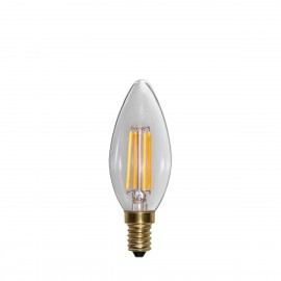SOFT GLOW 3 stopnie mocy, żarówka dekoracyjna LED E14 C35 4W 2100K Star Trading
