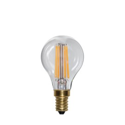 SOFT GLOW 3 power levels, decorative LED bulb E14 P45 4W 2100K Star Trading