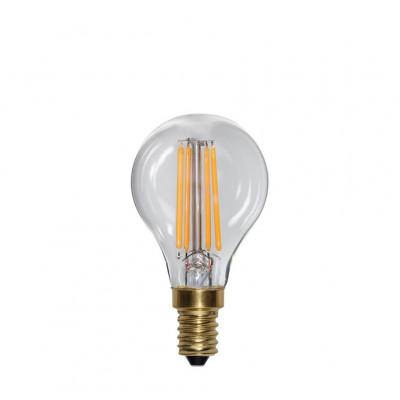 SOFT GLOW 3 stopnie mocy, żarówka dekoracyjna LED E14 P45 4W 2100K Star Trading