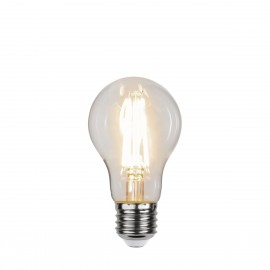 DECOLED SPIRAL CLEAR 3 Power Levels, A60 6.5W 3000K LED Decorative Light Bulb Star Trading