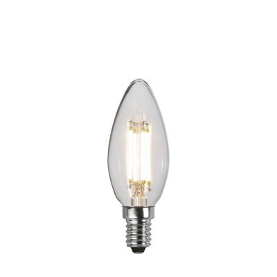DECOLED CLEAR 3 stopnie mocy, żarówka dekoracyjna LED E14 C35 4,2W 3000K Star Trading