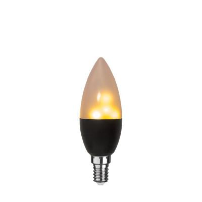 FLAME żarówka dekoracyjna LED E14 C37 0,8-1,2W 1800K Star Trading