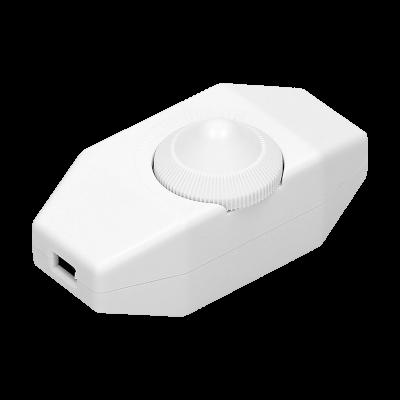 Biały nakablowy ściemniacz max. 80W OR-AE-1393/W Orno