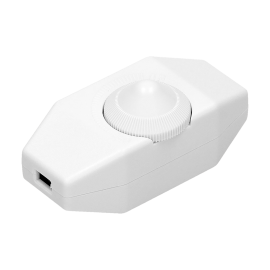 White cable dimmer max. 80W OR-AE-1393 / W Orno