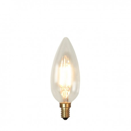 SOFT GLOW decorative LED bulb E14 C45 3W 2200K dimmable Star Trading