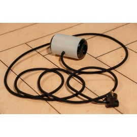 Electric extension cord ROLL ON gray 3m, Zetpeta solid wood