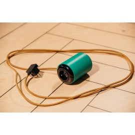 Electric extension cord ROLL ON green 3m, Zetpeta solid wood