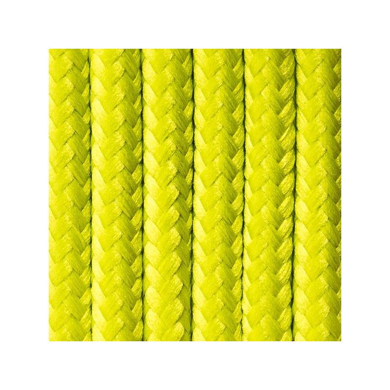 Kabel w oplocie poliestrowym 27 wiosenny groszek dwużyłowy 2x0.75