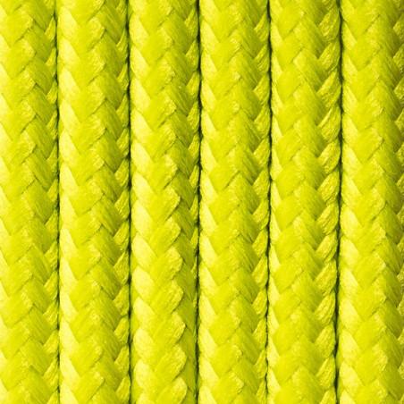 Kabel w oplocie poliestrowym 27 wiosenny groszek dwużyłowy 2x0.75 Kolorowe Kable