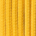Round electric cable covered by polyester 28 Sunny melon 2x0.75