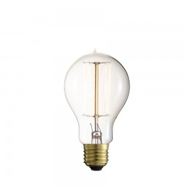Decorative filament light bulb Straight A60 60mm 60W