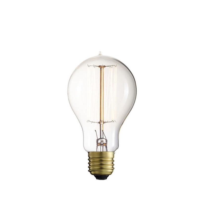 Żarnikowa żarówka dekoracyjna Straight A60 60mm 60W