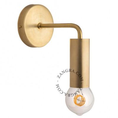 Brass wall lamp light.039.017.go sconce Zangra