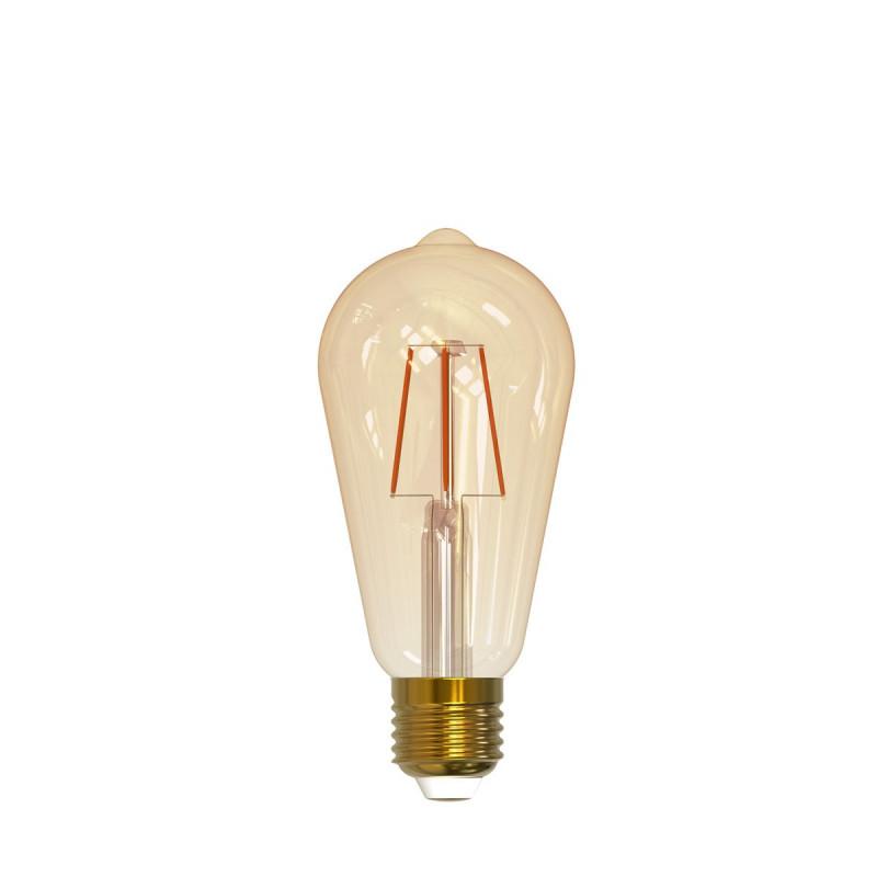 Wi-Fi SMART LED decorative bulb ST64 5.5W 1800K to 2700K Polux