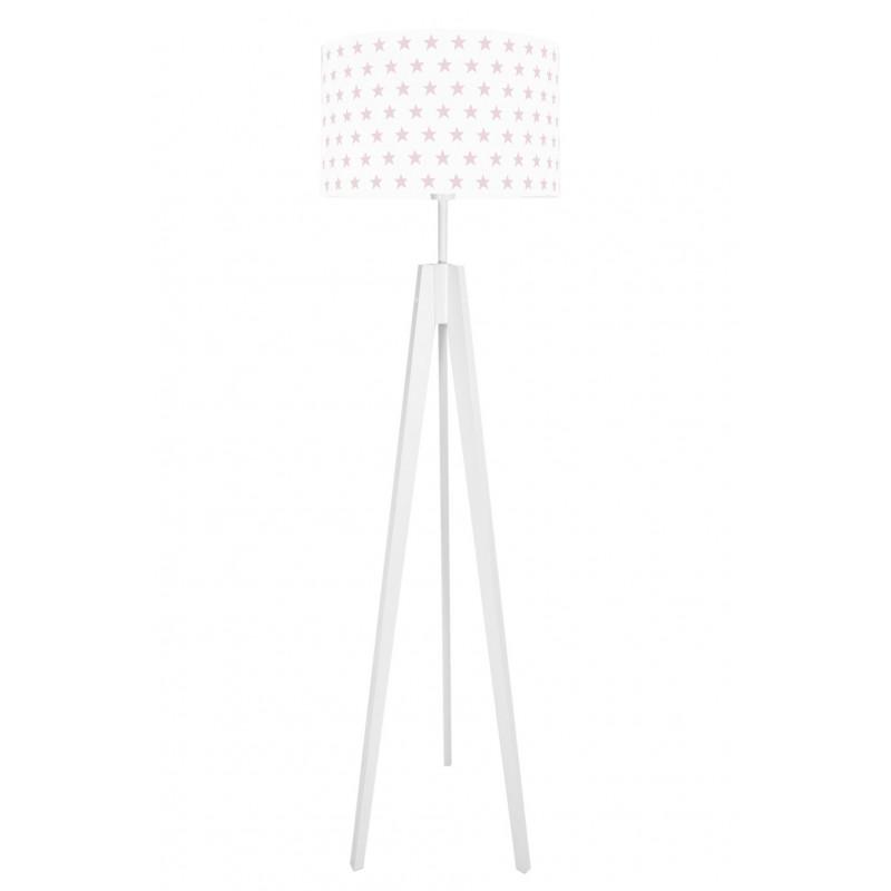 Pink Stars Floor Lamp