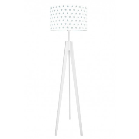 Grey Stars Floor Lamp