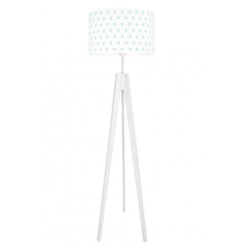 Mint Stars Floor Lamp