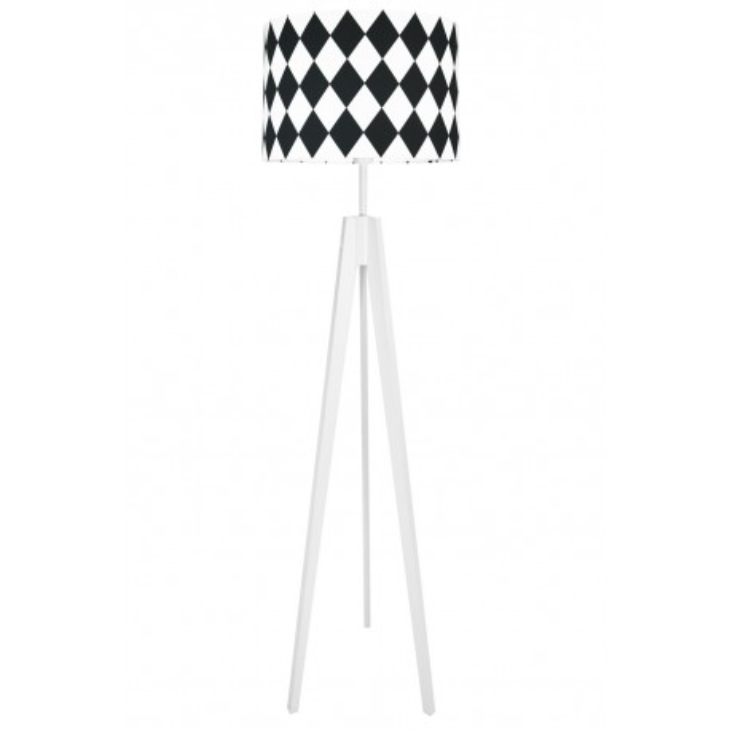 Black Diamonds Floor Lamp