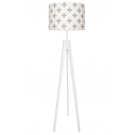 Grey Sharps Floor Lamp