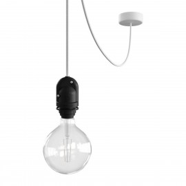 EIVA Outdoor pendant lamp for lampshade with silicone ceiling rosette and IP65 waterproof holder Creative-Cables
