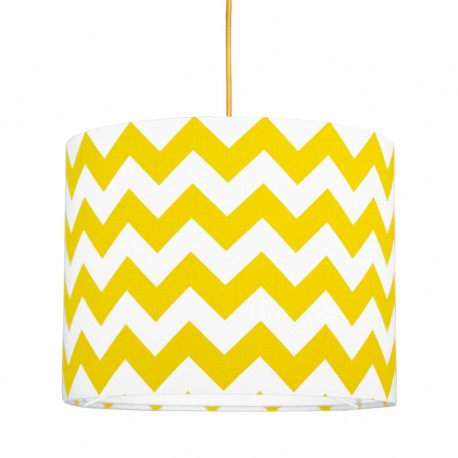 Yellow Chevron MINI Lampshade Ø25cm