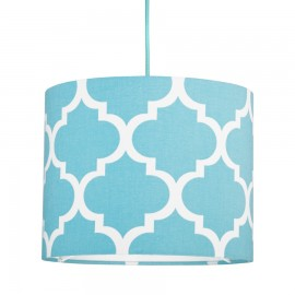 Turquoise moroccan clover MINI Lampshade Ø25cm