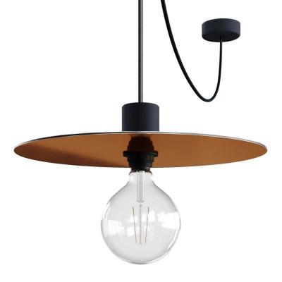 EIVA ELEGANT Ellepì metalik Lampa wisząca z silikonową rozetą sufitową i oprawką wodoodporną IP65 Creative-Cables