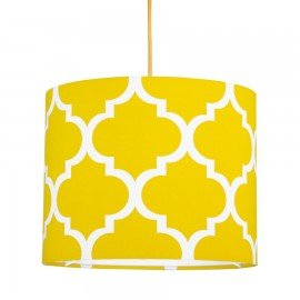 Yellow moroccan clover MINI Lampshade Ø25cm
