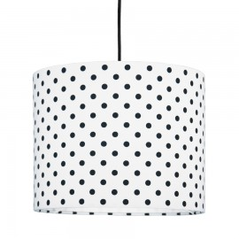 Black dots MINI Lampshade Ø25cm