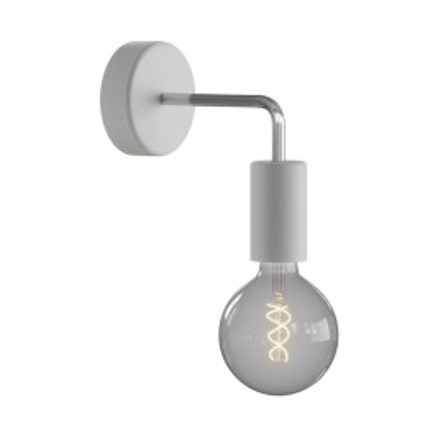 Grey wall lamp Fermaluce EIVA ELEGANT sconce L-shaped waterproof IP65 Creative-Cables
