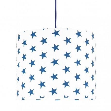 Navy blue Stars MINI Lampshade Ø25cm