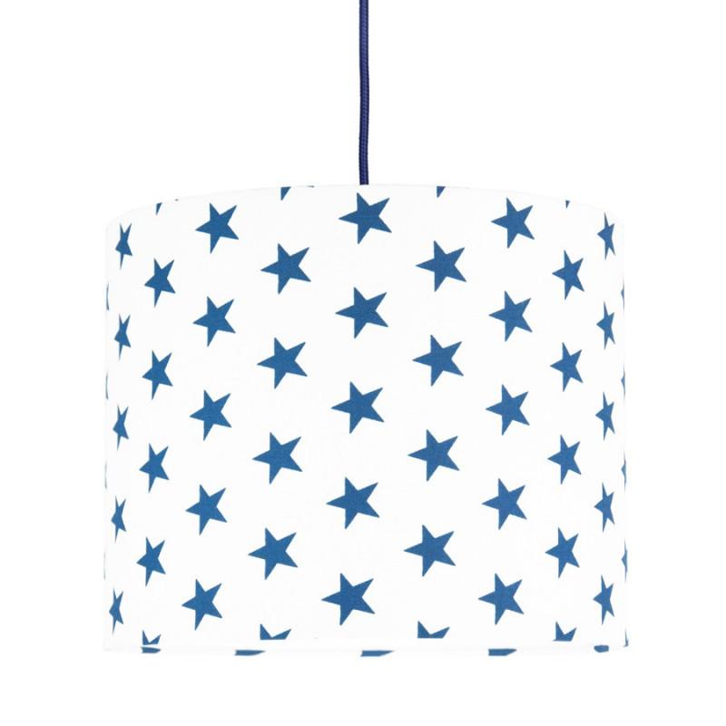 Navy blue Stars MINI Lampshade Ø25cm