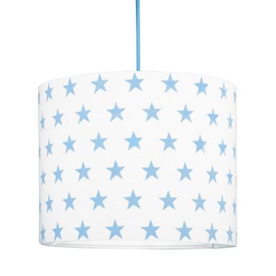 Abażur gwiazdki błękitne mini