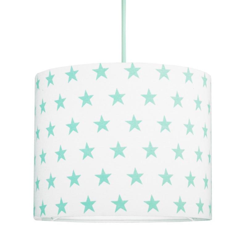 Mint Stars MINI Lampshade Ø25cm