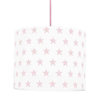 Abażur gwiazdki różowe mini