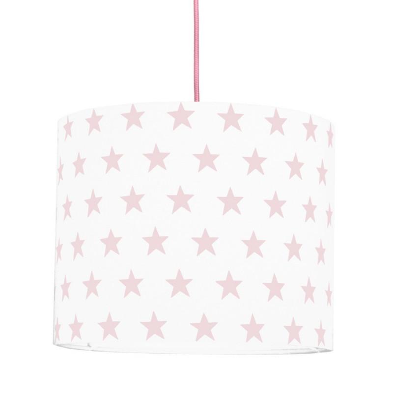 Pink Stars MINI Lampshade Ø25cm