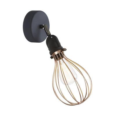 Kinkiet Fermaluce EIVA z mosiężnym kloszem Drop, regulowanym przegubem i oprawką wodoodporną IP65 Creative-Cables